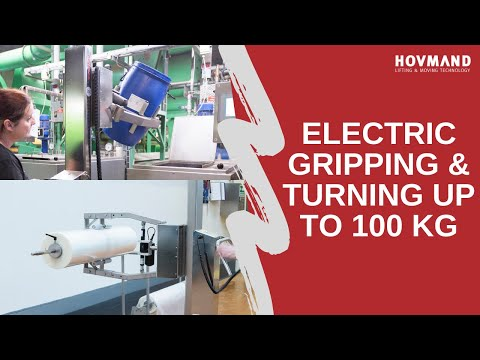 Hovmand - Electric gripping and turning - QC6 Icon