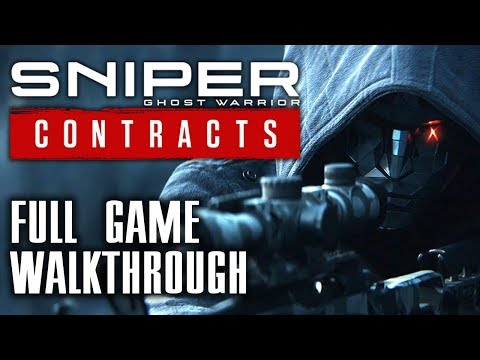 Sniper Ghost Warrior Contracts - Full Game Walkthrough - No Commentary Longplay