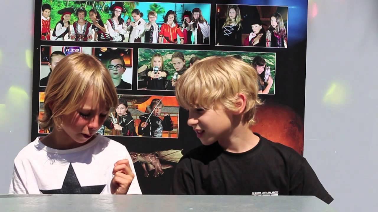 Entrevistas con los Kids in Black - Martín entrevista a Oliver