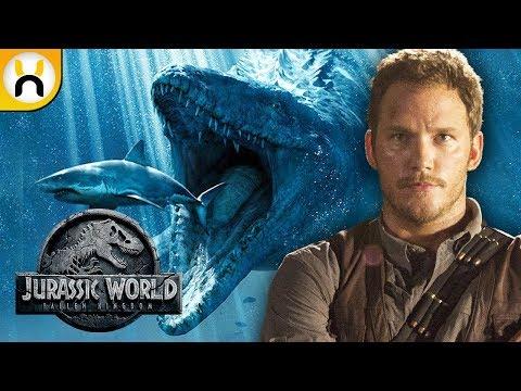 Mosasaurus Confirmed To Appear In Jurassic World Fallen Kingdom!