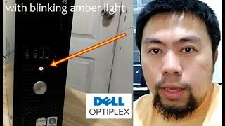 FIXED! Dell Optiplex Amber Light Issue [English]