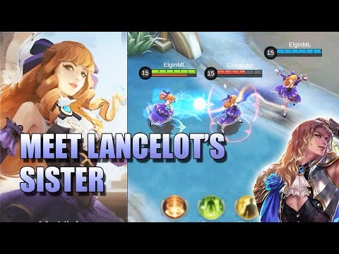 GUINEVERE, MS. VOILET NEW HERO IN MOBILE LEGENDS 🙋\u200d♀️ LANCELOT'S SISTER?