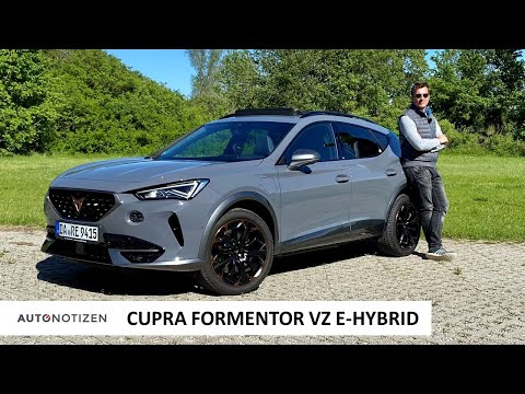 Cupra Formentor VZ e-Hybrid (245 PS): Was kann der Plug-in Hybrid? Review   Test   Autobahn   2021