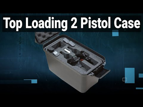 Top Loading 2 Pistol Case - Featured Youtube Video