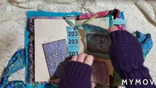 *Sold- Boho Gypsy Junk Journal, DT Project For Studio 28E,