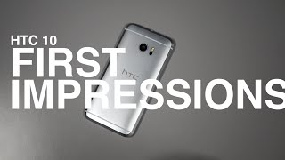 HTC 10 First Look and Tour!