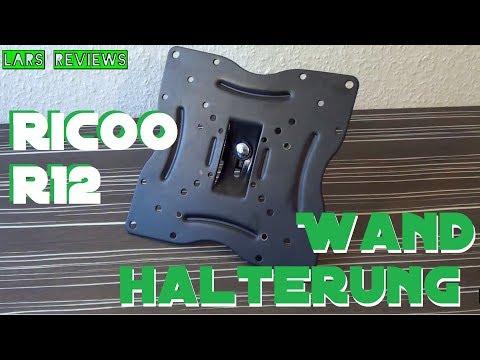 Lars Reviews - Ricoo R12 Wandhalterung VESA Monitorhalterung [DEUTSCH] [HD] RW-R12 N1222