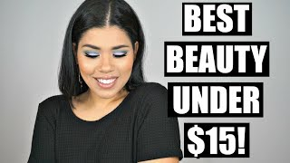 Best Beauty Products UNDER $15!