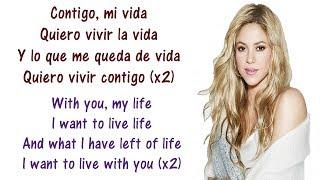 Shakira - Suerte (Whenever, Wherever) Lyrics English and Spanish - Translation & Meaning - Letras