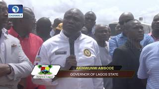 Contractors Assure Ambode On Delivery Of 10-Lane Airport Road,Flyover Pt.1 |Dateline Lagos|