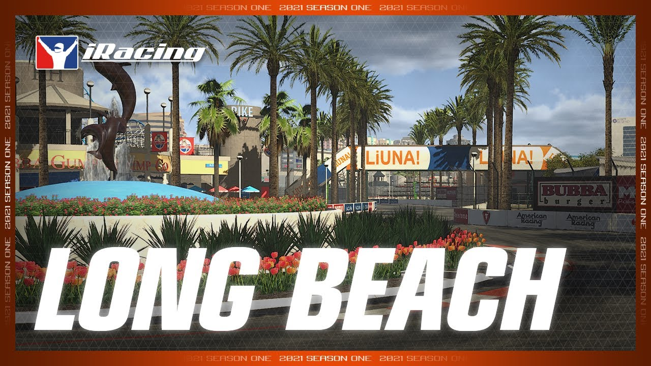 iRacing: New content Long Beach Street Circuit