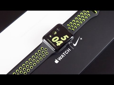 Mở hộp Apple Watch Nike+