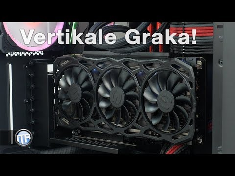 Download Grafikkarte In Jedem ATX Gehäuse Vertikal Einbauen - CableMod PCIe Bracket HD Mp4 3GP Video and MP3