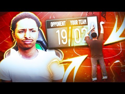 I FAKED BEING A NOOB UNTIL THEY SCORED 19 POINTS NBA 2K19 TROLLING