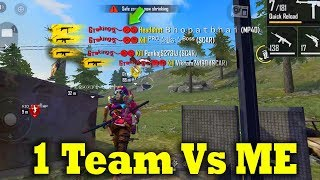 🔥1 Team Vs ME🔥 | Free Fire Attacking Squad Ranked GamePlay Tamil|Ranked Match|Tips&TRicks Tamil