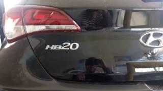 Retrovisor interno + Câmera de ré + Câmera frontal Hyundai HB20