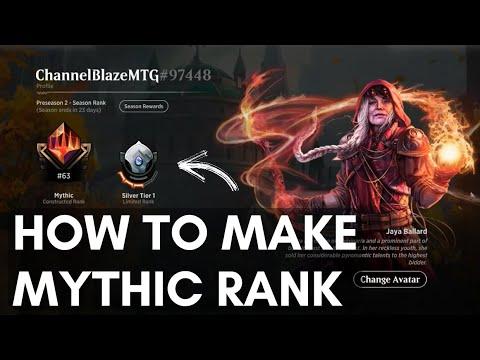 MTG Arena MYTHIC constructed ladder with MONO RED! - смотреть онлайн