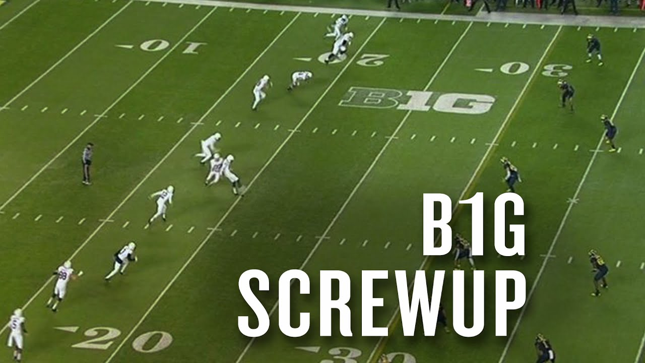 Big Ten referees ruin the only fun thing in Penn State-Michigan thumbnail