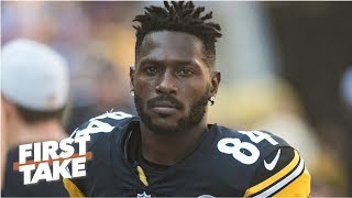 How do Antonio Brown allegations affect his future with the Steelers?   First Take