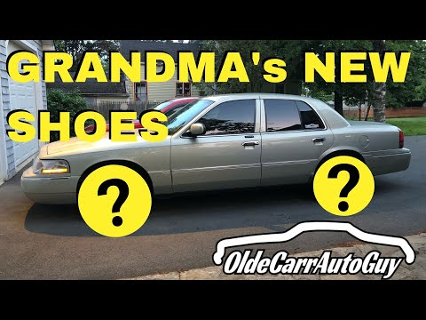 NEW WHEELS AND TIRES ON MY 2004 MERCURY GRAND MARQUIS & JR GRADUATES HIGH SCHOOL