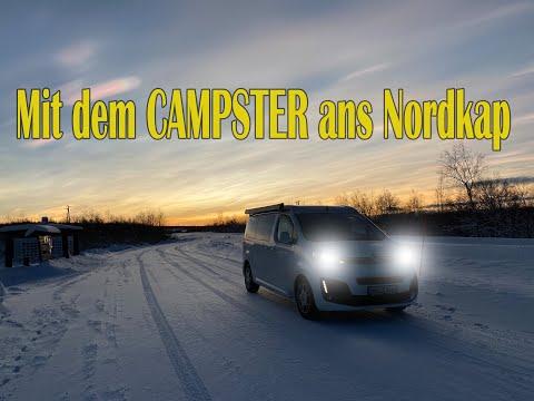 Härtetest für den Campster - über Silvester ans Nordkapp