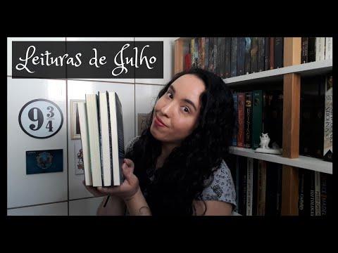 Vlog de Leituras de Julho (2020) | Um Livro e Só