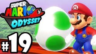 Super Mario Odyssey - Switch Gameplay Walkthrough PART 19: Peach's Castle - Yoshi - Mushroom Kingdom