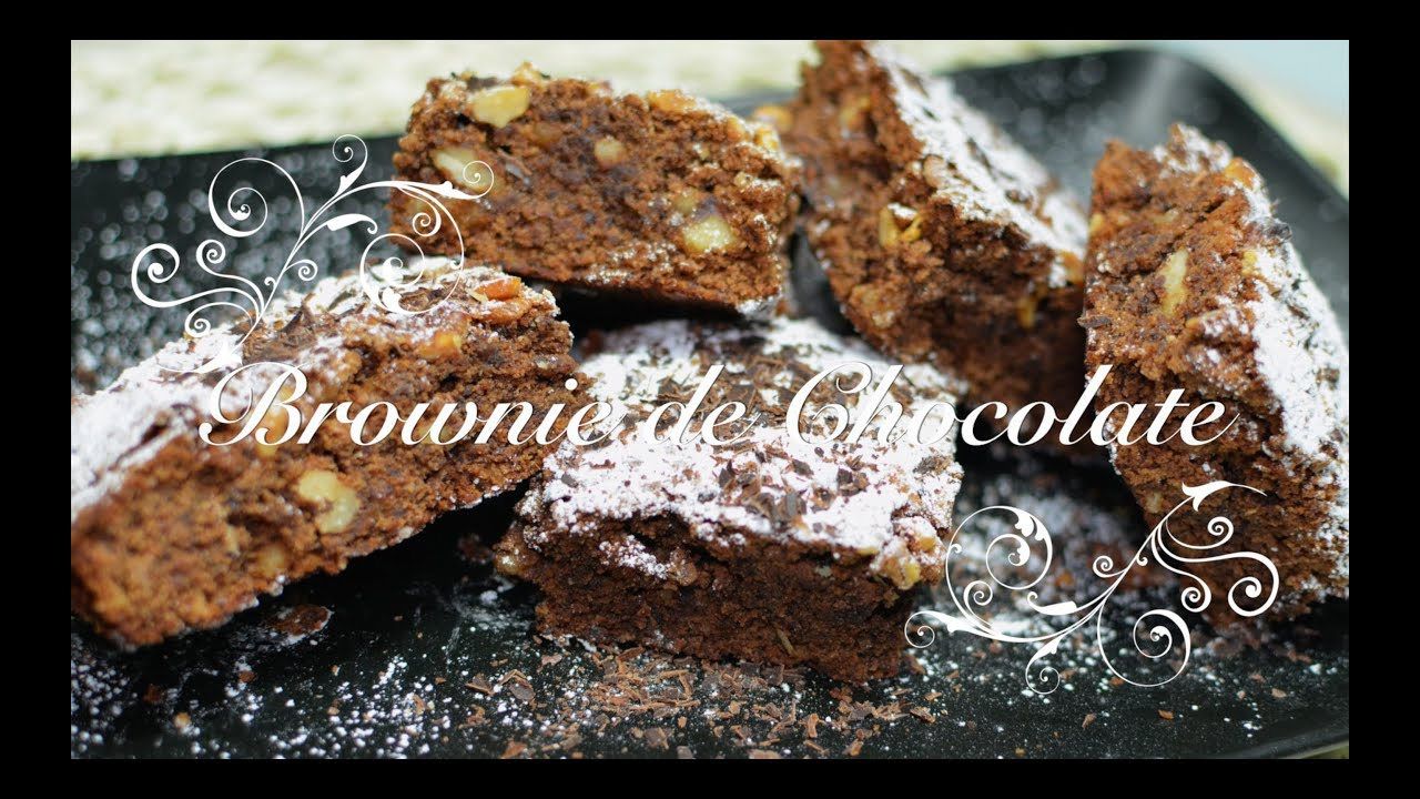 Brownie de Chocolate Thermomix | Brownie Thermomix | Brownies Thermomix | Brownie en Thermomix