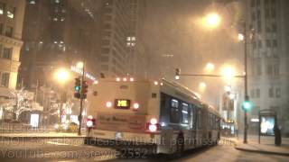 Chicago Winter Storm-Heavy Snow! -HD