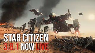 Star Citizen 3.8.1 NOW LIVE | NEW FEATURES | Lunar Festival Sale