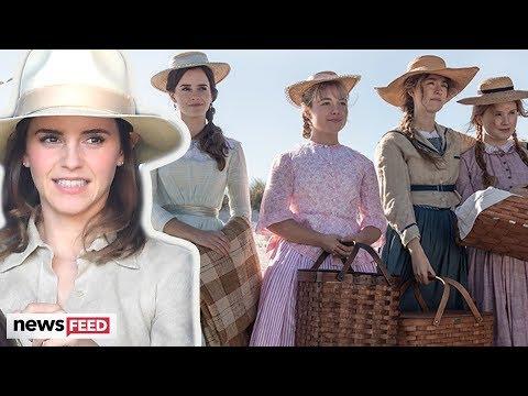 Emma Watson TROLLED For Odd Accent In 'Little Women' Trailer!