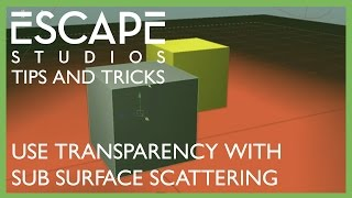 Tips and Tricks - Use transparency maps with sub surface scattering shaders