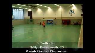 preview picture of video 'Fußball Hallenturnier, PSV Recklinghausen'