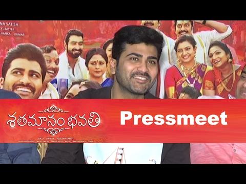 Shatamanam Bhavati Team Pressmeet