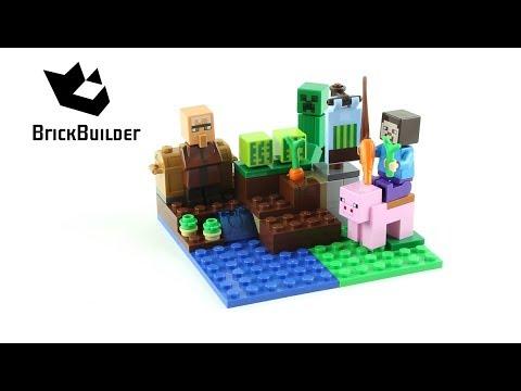 Vidéo LEGO Minecraft 21138 : La culture de pastèques