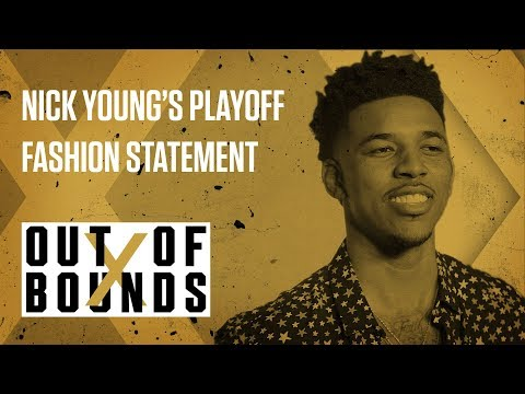 Nick Young Wears Silk Robe and Boxers to Playoffs | Out of Bounds