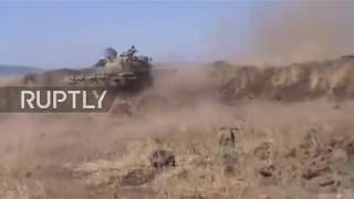 Syria: Israel strikes SAA after errant fire hits Golan Heights