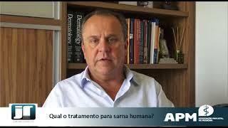 Qual o tratamento para sarna humana?