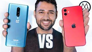 OnePlus 8 vs Apple iPhone 11