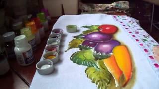 Pintura de Cenouras