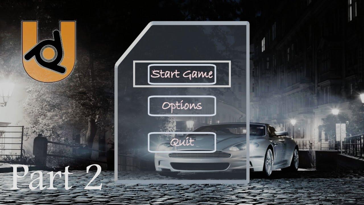 Car game tutorial (UPBGE 0.03 ) Part 2