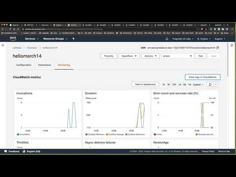 Develop AWS Lambda functions with AWS Cloud9