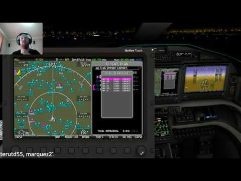 1- Epic E1000 in X-Plane 11 - KDFW to KIAH - смотреть онлайн