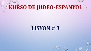 Lisyon 3
