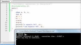C Programming Tutorial - 9: Characters