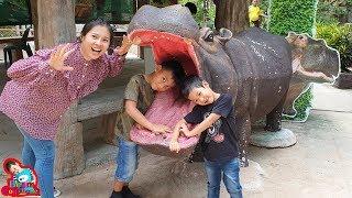 น้องบีม | เที่ยวชลบุรี สวนสัตว์เปิดเขาเขียว คลิปเต็ม