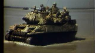 Okinawa Invasion Beach Scenes