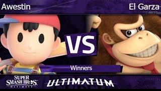 Ultimatum  - Awestin (Ness) vs El Garza (DK) Winners - SSBU