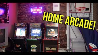 I Turned My Bedroom into a 90s Home Arcade!
