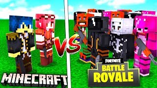 Minecraft ITA - STEF E PHERE VS ESERCITO DI FORTNITE!!